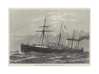 HMS Hecla, Merchant Steamer Purchased and Fitted for the Royal Navy