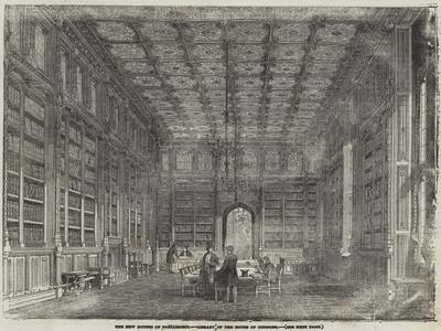 The New Houses of Parliament, Library of the House of Commons