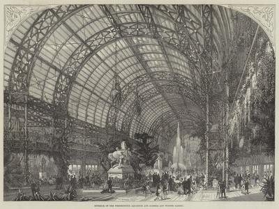 Interior of the Westminster Aquarium and Summer and Winter Garden