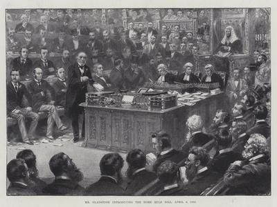Mr Gladstone Introducing the Home Rule Bill, 8 April 1886