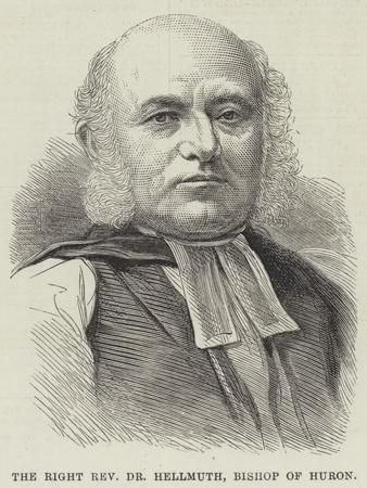 The Right Reverend Dr Hellmuth, Bishop of Huron