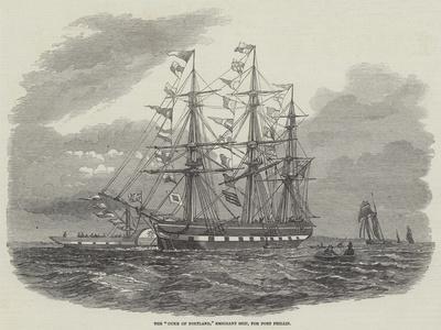 The Duke of Portland, Emigrant Ship, for Port Phillip