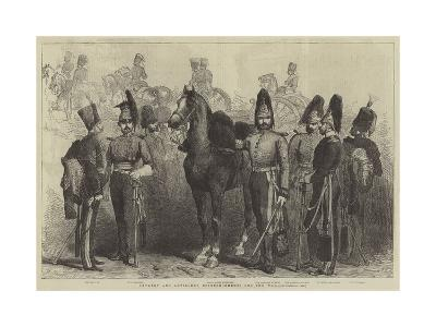Cavalry and Artillery Reinforcements for the War