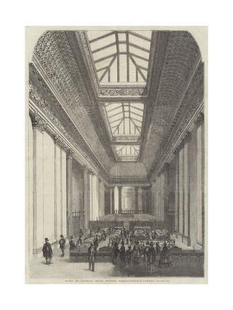 Bank of London, Head Office, Threadneedle-Street
