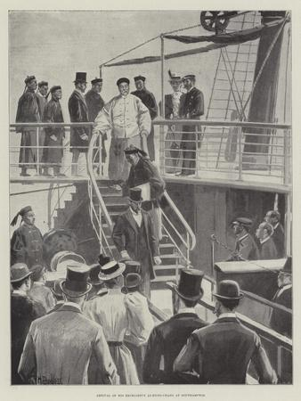 Arrival of His Excellency Li-Hung-Chang at Southampton