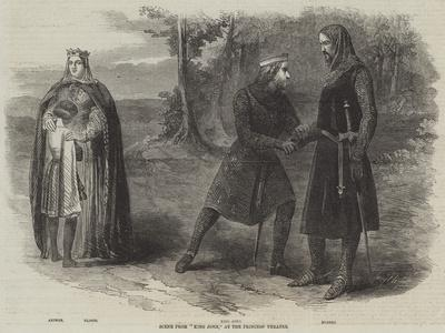 Scene from King John, at the Princess' Theatre