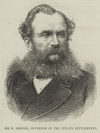 Sir W Jervois, Governor of the Straits Settlements