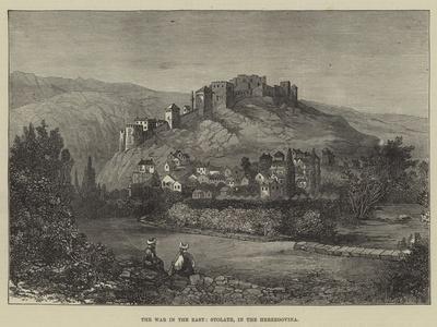 The War in the East, Stolatz, in the Herzegovina