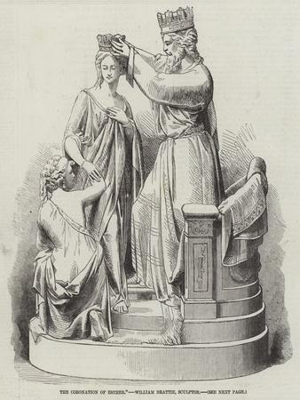 The Coronation of Esther, William Beattie, Sculptor