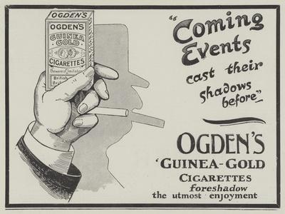 Advertisement, Ogden's Guinea-Gold Cigarettes