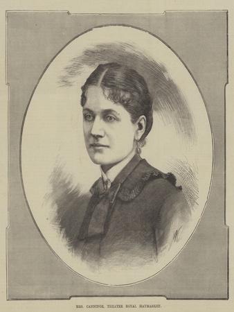 Mrs Canninge, Theatre Royal Haymarket