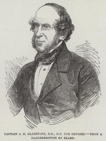 Captain J N Gladstone, Rn, Mp for Devizes