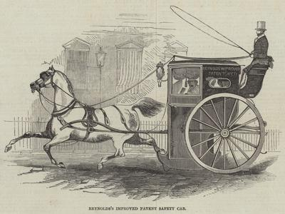 Reynolds's Improved Patent Safety Cab