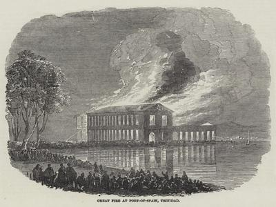Great Fire at Port-Of-Spain, Trinidad