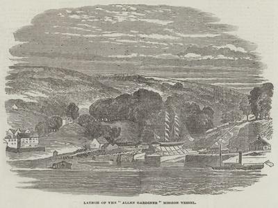 Launch of the Allen Gardiner Mission Vessel