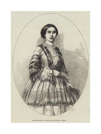 Madame Bosio, of the Royal Italian Opera
