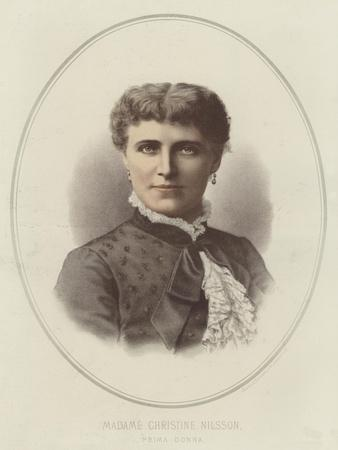 Madame Christine Nilsson, Prima Donna