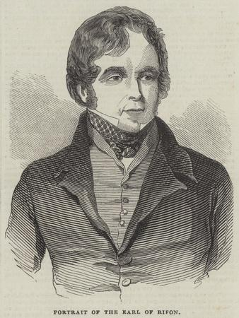 Portrait of the Earl of Ripon