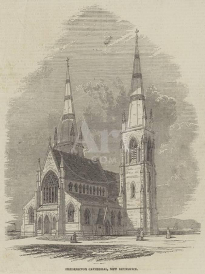 Fredericton Cathedral, New Brunswick Giclee Print at AllPosters.com
