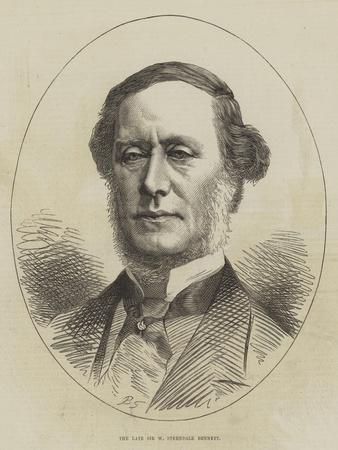 The Late Sir W Sterndale Bennett