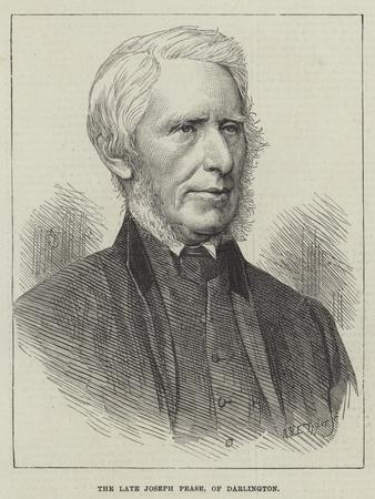 The Late Joseph Pease, of Darlington