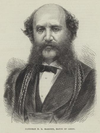 Alderman H R Marsden, Mayor of Leeds