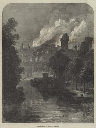 The Burning of Warwick Castle