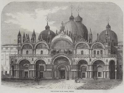 The Church of St Mark, Venice