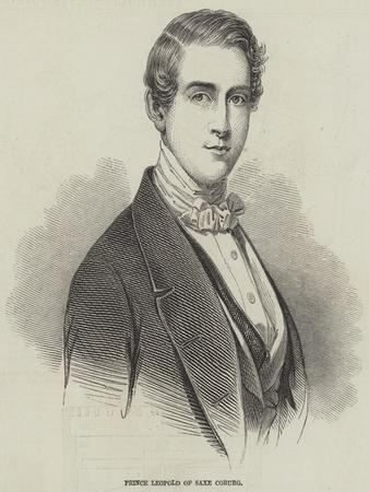 Prince Leopold of Saxe Coburg