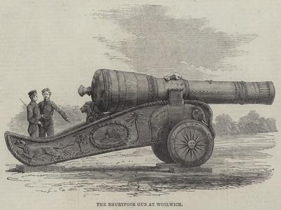 The Bhurtpoor Gun at Woolwich