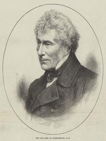 The Late Earl of Ellenborough