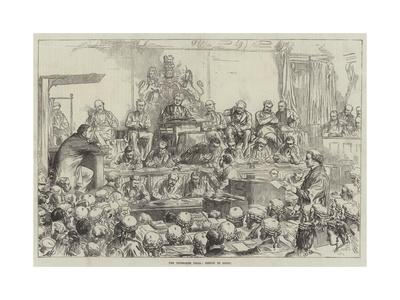 The Tichborne Trial, Sketch in Court