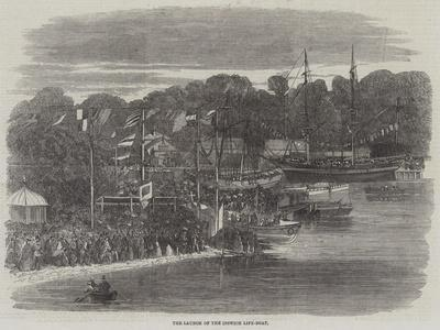 The Launch of the Ipswich Life-Boat
