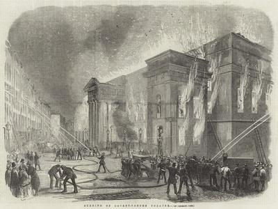 Burning of Covent-Garden Theatre