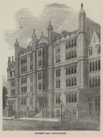 University Hall, Gordon-Square