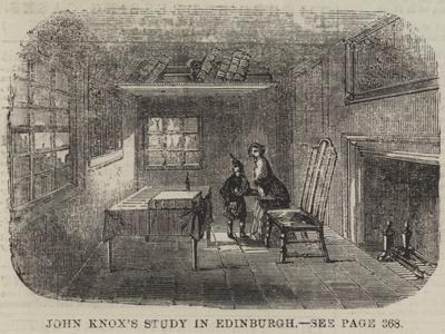 John Knox's Study in Edinburgh