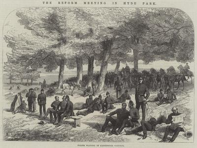 The Reform Meeting in Hyde Park