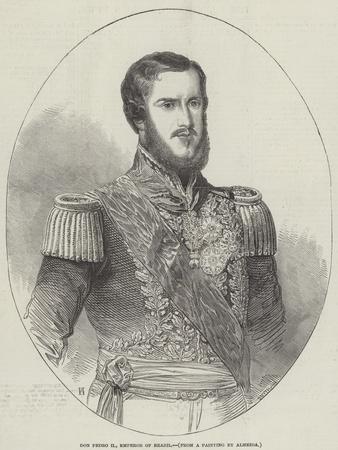 Don Pedro II, Emperor of Brazil