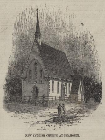 New English Church at Chamouni