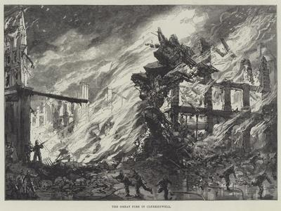 The Great Fire in Clerkenwell
