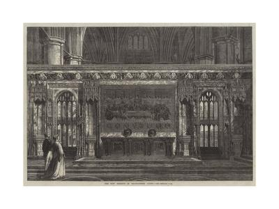 The New Reredos in Westminster Abbey