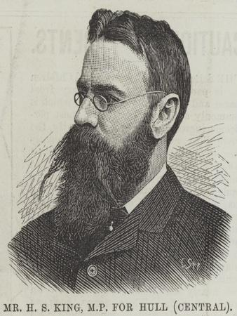 Mr H S King, Mp for Hull (Central)
