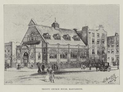 Trinity Church House, Marylebone