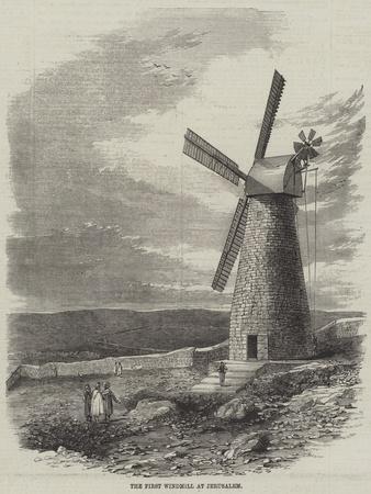 The First Windmill at Jerusalem