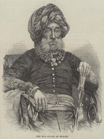 The Maharajah of Mysore