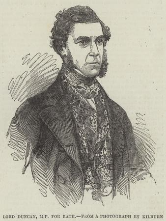 Lord Duncan, MP for Bath
