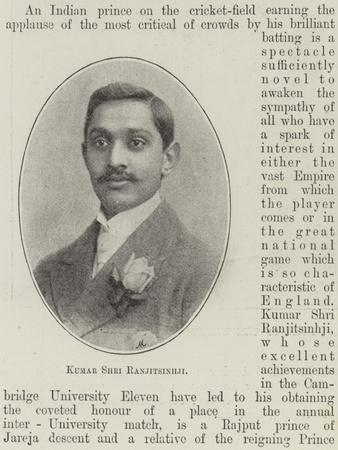 Kumar Shri Ranjitsinhji