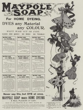 Advertisement, Maypole Soap