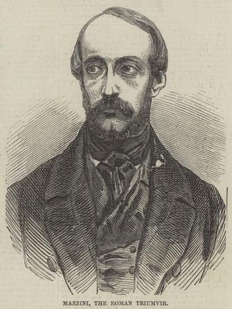Mazzini, the Roman Triumvir