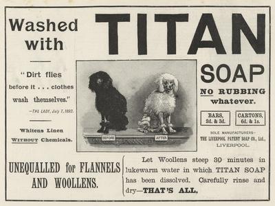 Advertisement, Titan Soap